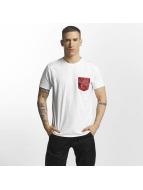 Criminal Damage t-shirt Vale Pocket wit