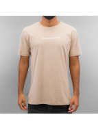 Criminal Damage T-shirtar Now beige