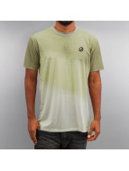 Criminal Damage T-shirtar Slant beige