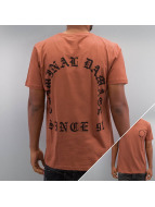 Criminal Damage T-shirtar Grave brun