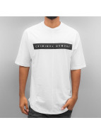 Criminal Damage T-Shirts Mac beyaz