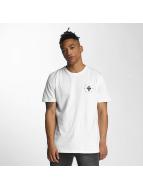 Criminal Damage T-Shirts Caliber beyaz