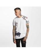 Criminal Damage T-Shirts Panther beyaz