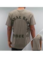 Criminal Damage Tričká Grave šedá