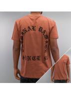 Criminal Damage Tričká Grave hnedá
