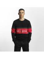 Criminal Damage trui Dolfo Logo zwart