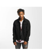 Criminal Damage Trucker Jacket Black