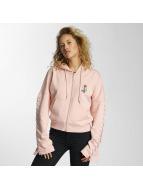 Criminal Damage Zip Hoodie Lacere розовый