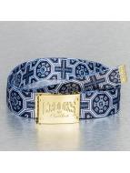 Crooks & Castles Ремень Venetian синий