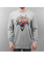 Crooks & Castles Pullover Coglomerate gris