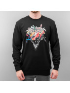 Crooks & Castles Pullover Coglomerate schwarz
