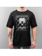 Crooks & Castles T-Shirt Bandito Dime schwarz