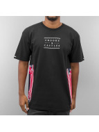 Crooks & Castles t-shirt Ethnic Tech Crooks zwart
