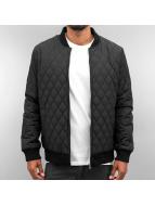 Cyprime Демисезонная куртка Quilted черный