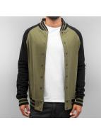 Cyprime Университетская куртка Raglan оливковый