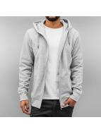 Basic Zip Hoody Grey...