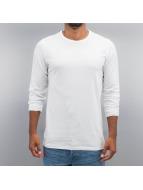 Cyprime Camiseta de manga larga Basic blanco