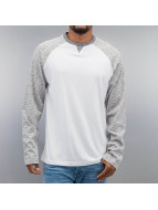 Cyprime Camiseta de manga larga Raglan gris