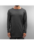 Cyprime Camiseta de manga larga Basic gris