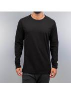 Cyprime Camiseta de manga larga Basic negro
