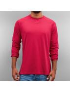 Cyprime Camiseta de manga larga Basic rojo