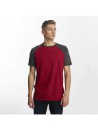 Cyprime Camiseta Raglan rojo