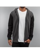 Cyprime Hoodies con zip 2-Tone grigio