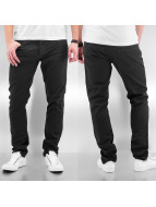 Cyprime Jeans larghi Baccus nero