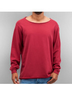 Cyprime Pullover Wide Round Neck rouge