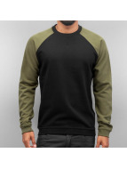Cyprime Pullover Two Tone schwarz