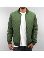 Quilted Jacket Olive...