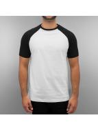 Raglan T-Shirt White/Bla...