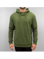 Cyprime Sweat à capuche Blank olive