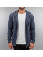 Cyprime Sweat à capuche zippé Basic bleu