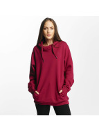 Cyprime Sweat capuche Cyber Oversized rouge