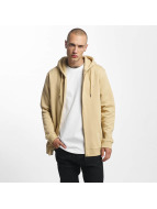 Cyprime Sweat capuche zippé Road beige