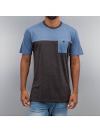 Cyprime T-shirt Breast Pocket blu