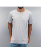 Cyprime T-Shirt Placket grau