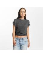 Cyprime T-shirt Basic Organic Cotton Oversized grigio