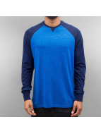 Cyprime T-Shirt manches longues Raglan bleu