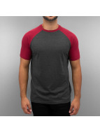 Cyprime Raglan T-Shirt Bordeaux/Anthracite