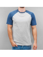 Cyprime T-Shirty Raglan niebieski