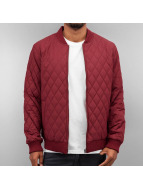 Cyprime Übergangsjacke Quilted rot