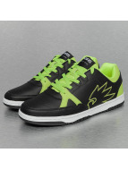 Dangerous DNGRS Logo Sneakers Black/Lime Green