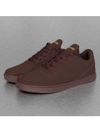 Dangerous DNGRS Perforated Sneakers Burgundy