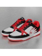Dangerous DNGRS Logo Sneakers White/Black/Red
