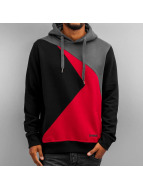 3 Times Hoody Black/Red...