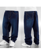Dangerous DNGRS Baggy jeans Points blauw