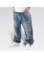 Dangerous DNGRS Baggy jeans Hemp blauw