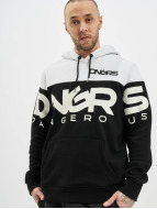 Dangerous DNGRS Bluzy z kapturem Gino czarny